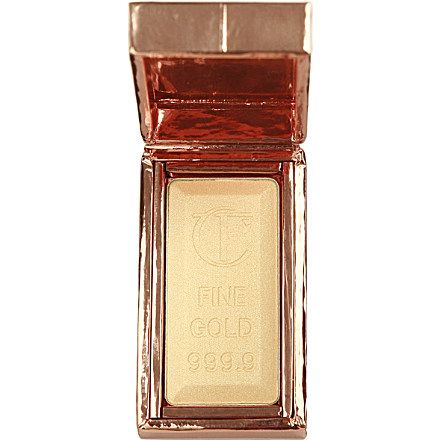 Charlotte Tilbury's Bar of Gold is a sumptuous Skin Gilding Highlighter that instantly lifts lacklustre, dull skin. Where can I get this in the United States? LoVe
