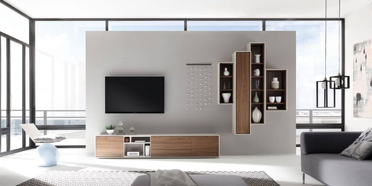 Modern Floating Shelves: Scopia Collection by Hülsta