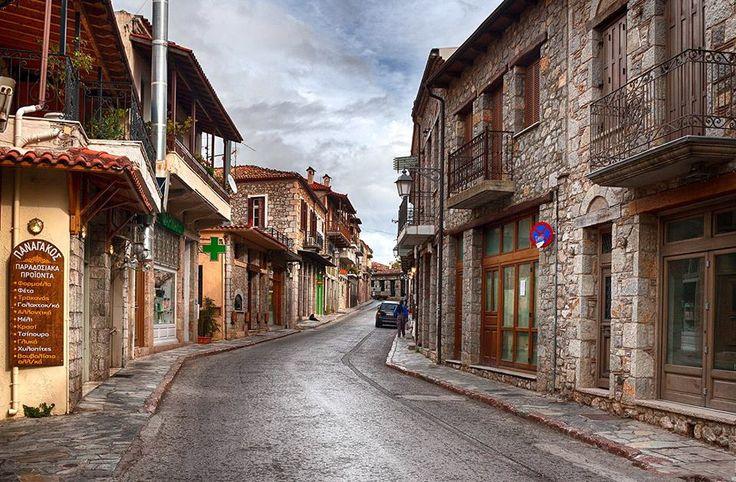 Visit Greece | Visit the picturesque village of Arahova in Greece! A winter hotspot! #visitgreece #greece #winter