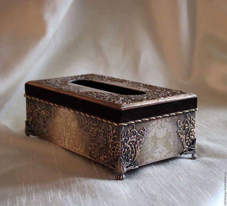 """Купить Салфетница """"Эвревиль"""" - салфетница, бронза, бронзовый, сервировка стола, сервировка, восточный, богатый, истрицкая"""