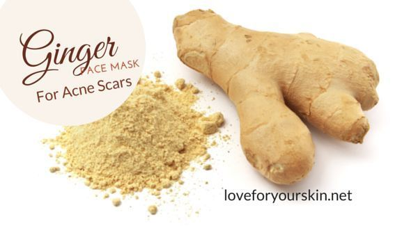 How to Make a Ginger Face Mask for Acne Scar Removal – #acne #Face #Ginger #Mask…