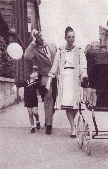 Audrey Hepburn ✾ and Mel Ferrer, Harper's Bazaar, September 1959, photo by Richard Avedon