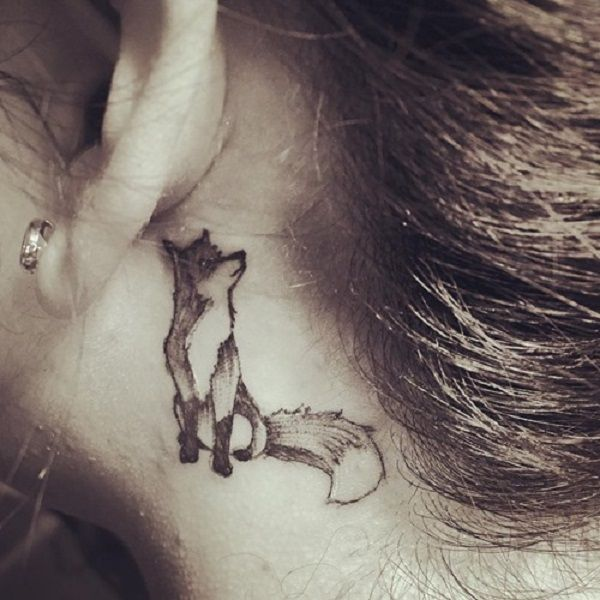 40 Amazing Fox Tattoo Designs – nenuno creative #designs #mysterious #creative #nenuno #tattoo
