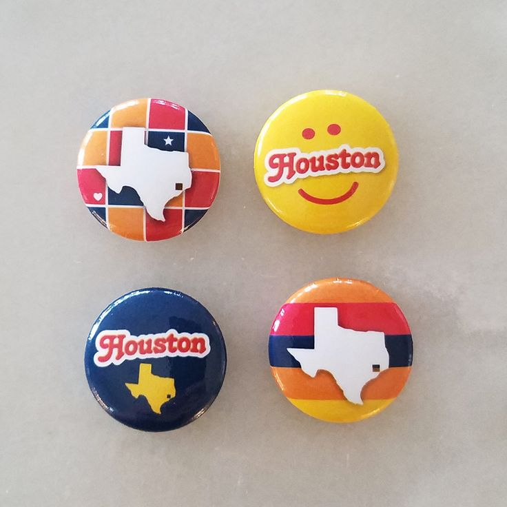 Houston button pins houston texas gifts products in