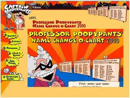 Professor Poopypants' Name Changer