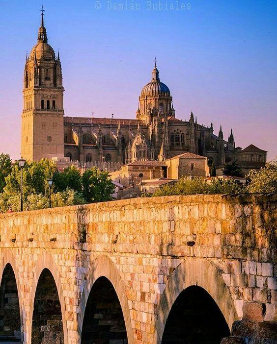 In Salamanca, Spain.