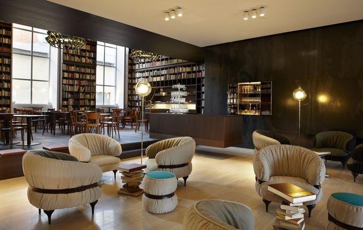 Library Lounge – B2 Boutique Hotel Zurich
