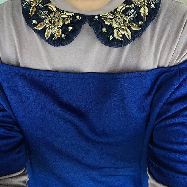 Inas double tee top worn with a cuff necklace from Zara #layers #layersonlayers