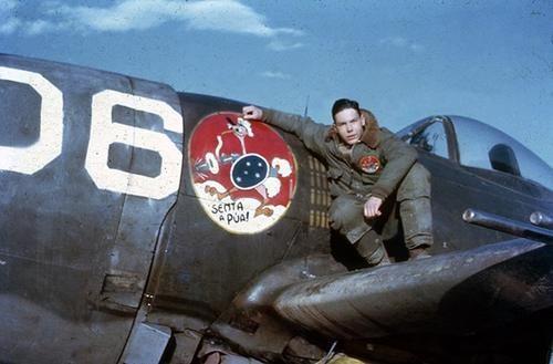 Senta a Púa Group - Força Aérea Brasileira, or FAB Brazillian P-47 Squadron in Italy fighting alongside the allies.
