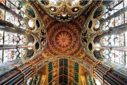 Sanctuary Upshot Saint Mary's Studley Royal, Yorkshire UK