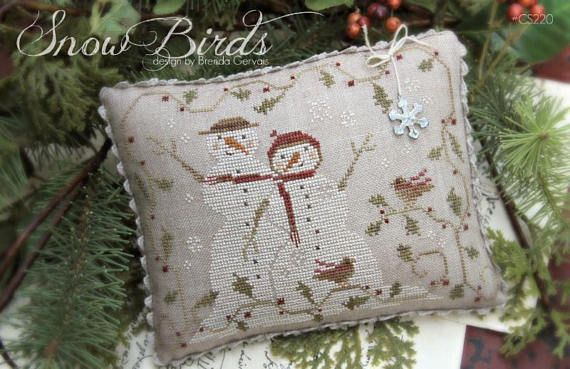 Snow for Christmas With Thy Needle /& Thread Cross Stitch Pattern
