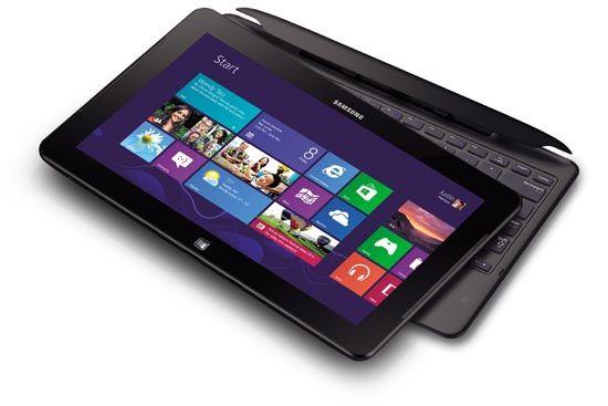 삼성전자가 24일 발표한 윈도우8 운영체제 탑재 '아티브 스마트PC'