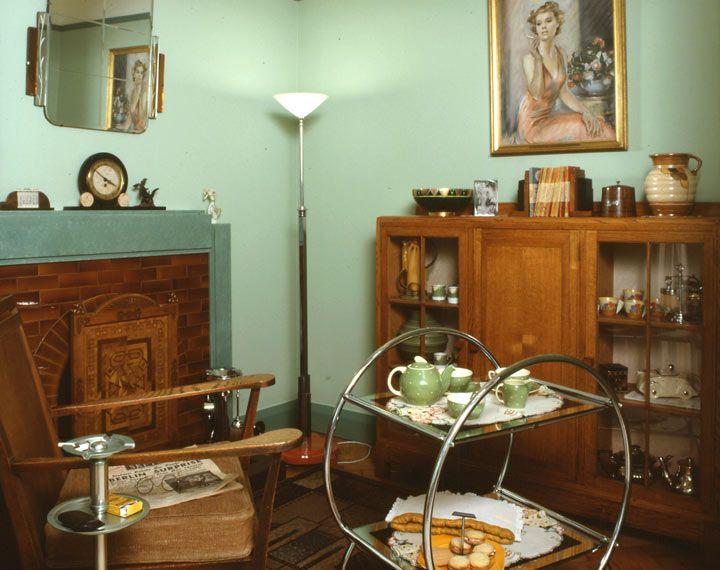 1930s home interior design home design. Black Bedroom Furniture Sets. Home Design Ideas