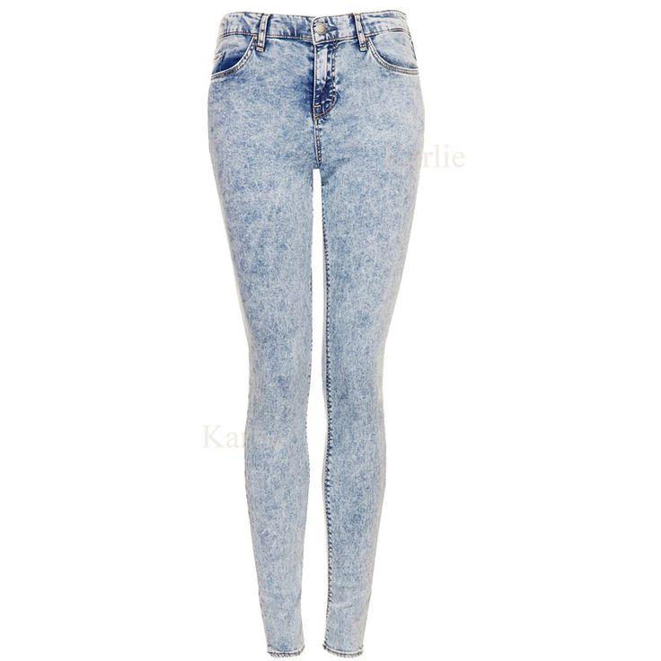 bleached skinny jeans - Jean Yu Beauty