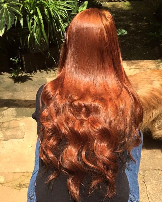 Beautiful red head .lot of  curls. Which in a good thing . She said. She want a …