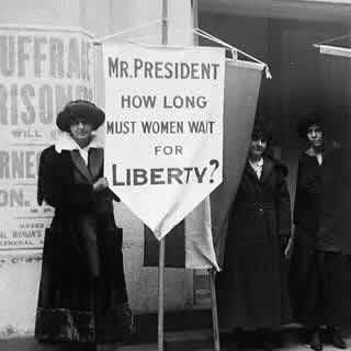 Woman suffragists agitated for 72 long years before the 19th Amendment was ratified.