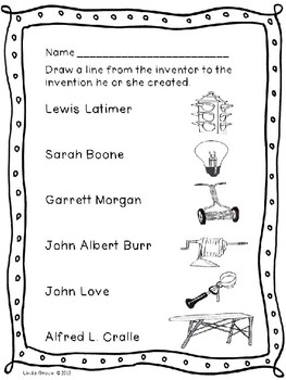 Nice Black Inventors Coloring Pages 72 Black American Inventors and
