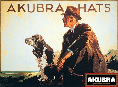 You cannot possibly go wrong with an Akubra hat.
