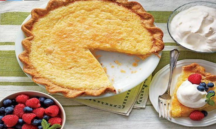 Une tarte au babeurre qui se prépare en quelques minutes! Tellement simple à réaliser, on serait fou de s'en passer!