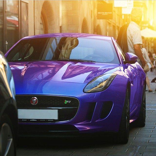 Jaguar F-Type R • Follow @StickerCity • • Restyle your vehicle • • With a high quality custom wrap • • www.stickercity.com • _____________________________ • Photo by: @aaltomotive