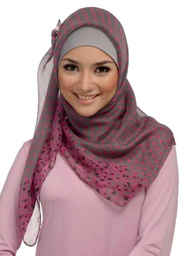 Such a soft, pretty touch! elzatta Hijab JAUZA. #elzattaHIJABSTYLE #Hijab #Hijab