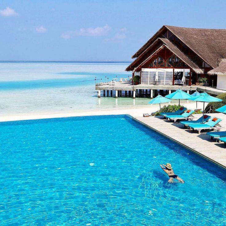 Anantara Dhigu Maldives Resort #Maldives