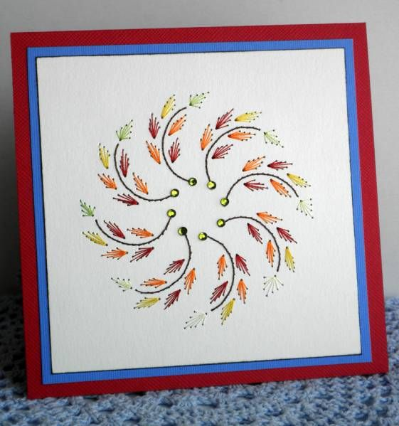 Autumn leaves by mother's daughter - Cards and Paper Crafts at Splitcoaststampers