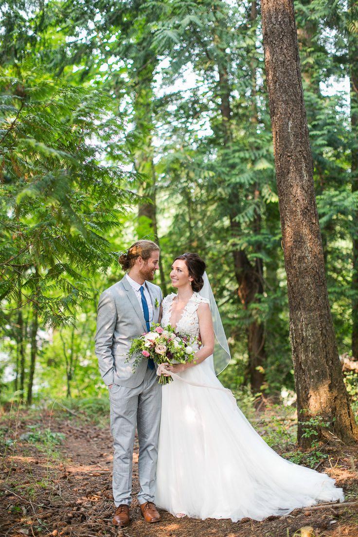 Romantic Washington Wedding | Woodstock Farm | Pacific Northwest Wedding