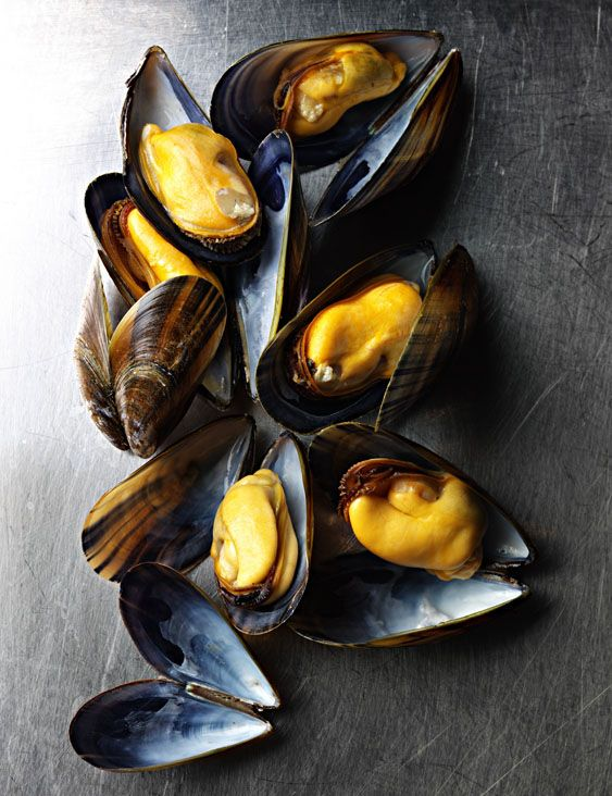 Mussels | oooh! wonderful with creamy curry sauce and fresh bread for all that dipping