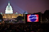 Outdoor movies on The Mall