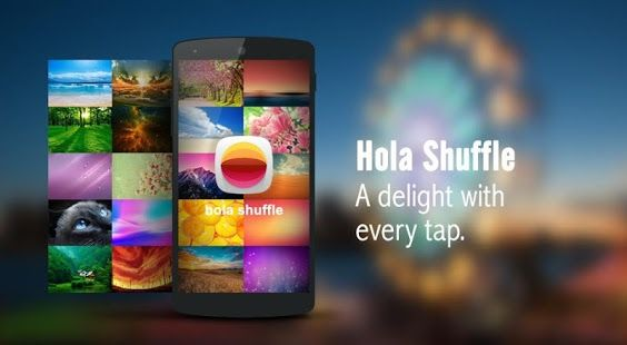 Hola Launcher APK 1.8.6   Smallest Smart & Beautiful Launcher - APK 4 Phone   Must-Have Android Apps   A4P