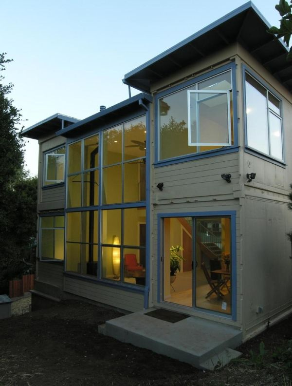 I think shipping container houses are brilliant! Cheap and well repurposed. Lets not chop down the trees..