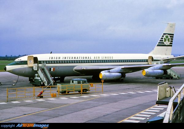 Boeing 720-048 EI-ALA at Shannon, april 1964                                                                                                                                                                                 Mehr
