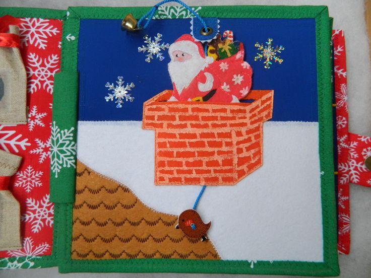 Santa / Cristmas / Felt / New year