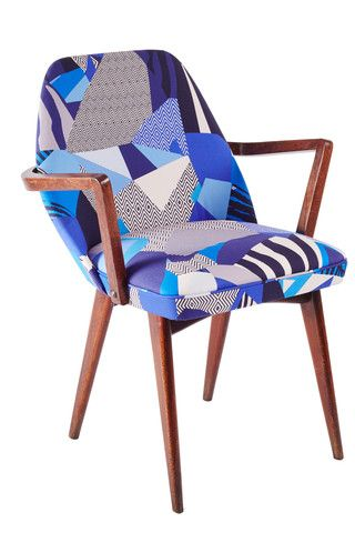 Kitty McCall Matisse Blue Benchair