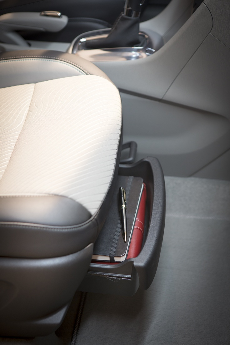 Buick encore underseat storage