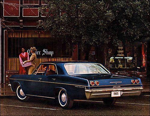 Chevrolet 1965 #chevroletimpala1965