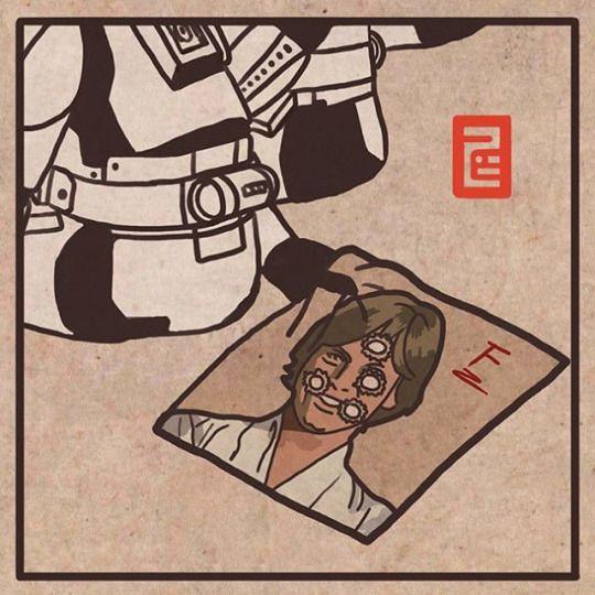Noooooooooooooo! 으앜! More at : https://instagram.com/7b.hyeon/ http://7b-hyeon.tumblr.com/ Find : #starwars #theforceaward #stormtrooper #lukeskywalker #artwork #artist #white #illustrator #instaart #fanart #korean #style #illustration #스타워즈 #더포스어워드 #스톰트루퍼 #일러스트 #그림 #スターウォーズ #ストームトルーパー #イラスト #ルークスカイウォーカー #낙서 #luke #obiwan #has #thought #you #well #7bhyeon