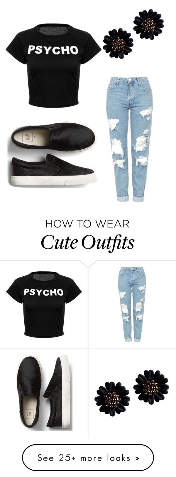 """My First Polyvore Outfit"" by anna-nosenko on Polyvore featuring Topshop"