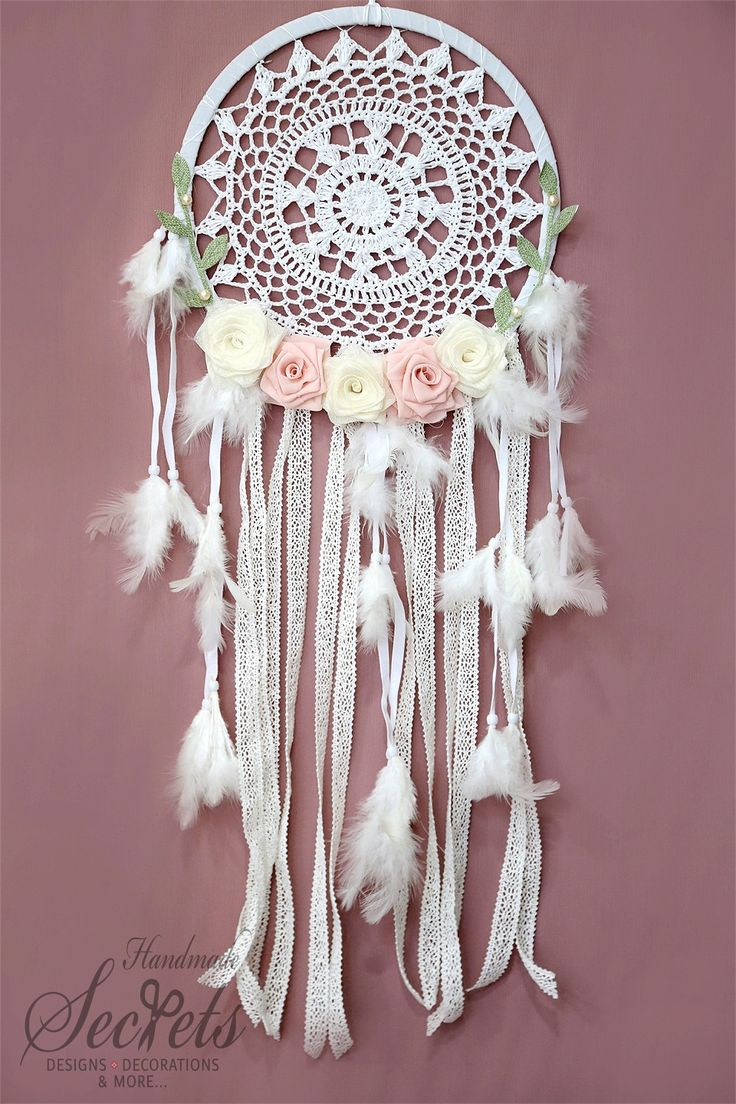 Dream Catcher Crochet Dream Catcher by AnnasHandmadeSecrets