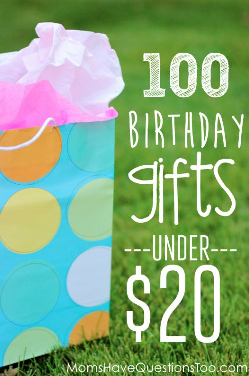 Over 100 unique and inexpensive birthday gift ideas for kids! Includes a free printable list to take with you as you shop! Includes lots of ...