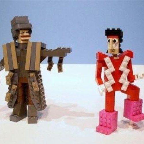 The Mighty Boosh Lego - uber schnarf