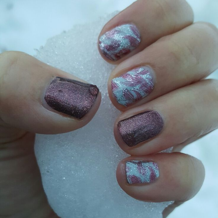 Love this Jamberry combination! Drift Away and Marsala Sparkle!