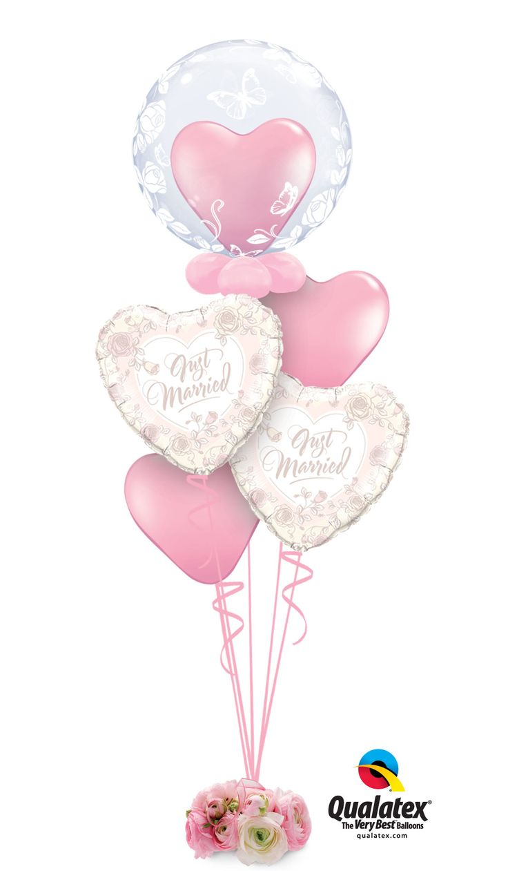 352 best wedding balloons images on pinterest wedding for Balloon decoration for wedding