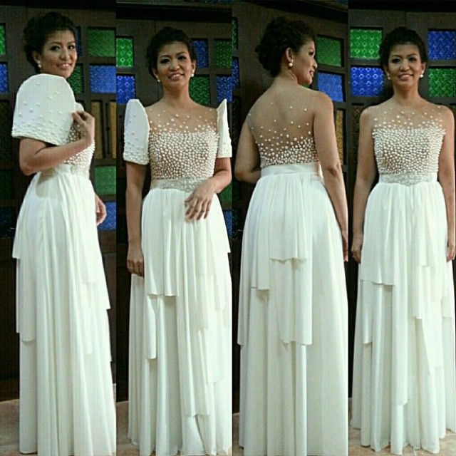 118 Best Images About Modern Filipiniana On Pinterest