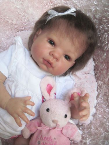 Lee Middleton Munchkin Reborn Baby Girl Doll 3 4 Limbs