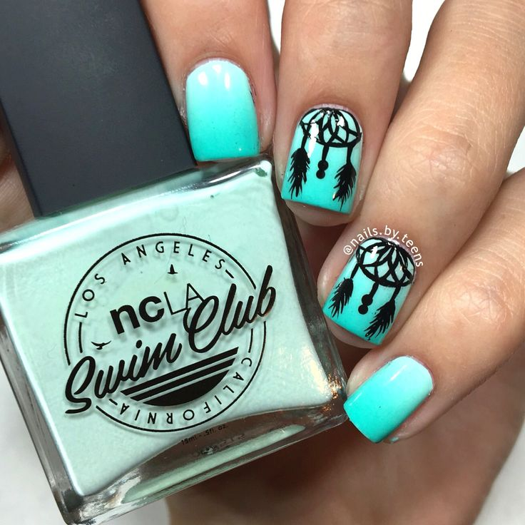 Dream Catcher nails                                                                                                                                                                                 More