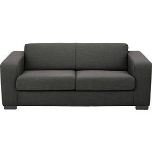 Buy Hygena New Ava Large Fabric Sofa - Charcoal at Argos.co.uk, visit Argos.co.uk to shop online for Sofas