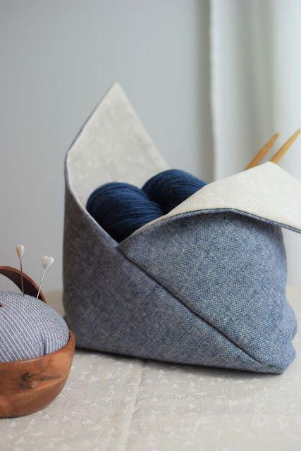Bentobag – wie aus einem einfachen Rechteck eine schöne Aufbewahrung wird (Alles Kirsche!)