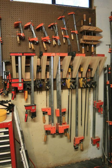 Clamp Storage By Rrdesigns Lumberjocks Woodworking Community